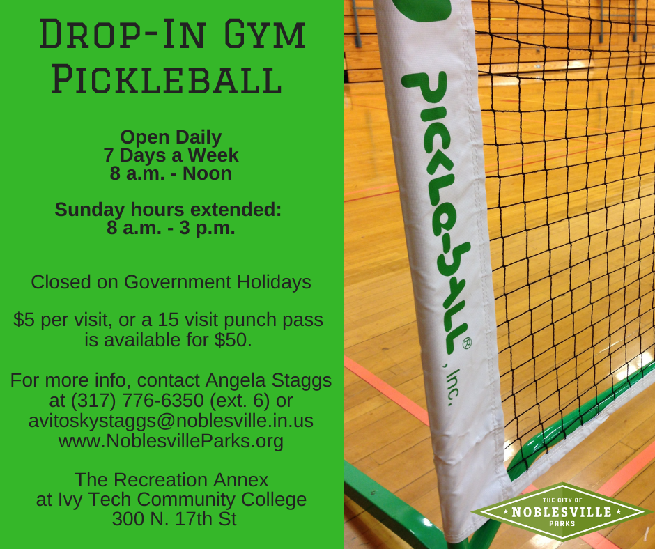 Indoor Pickleball Fall 2020