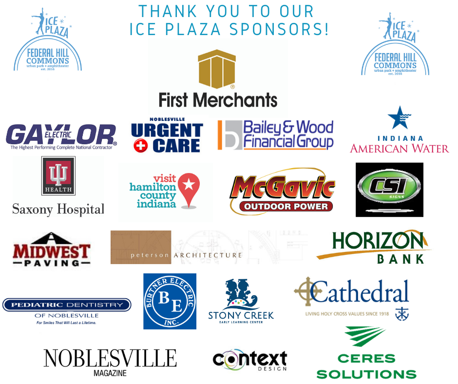 Thank You to Ice Plaza Sponsors
